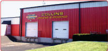 Collins Crane and Rigging Service, Inside Storage Facilities